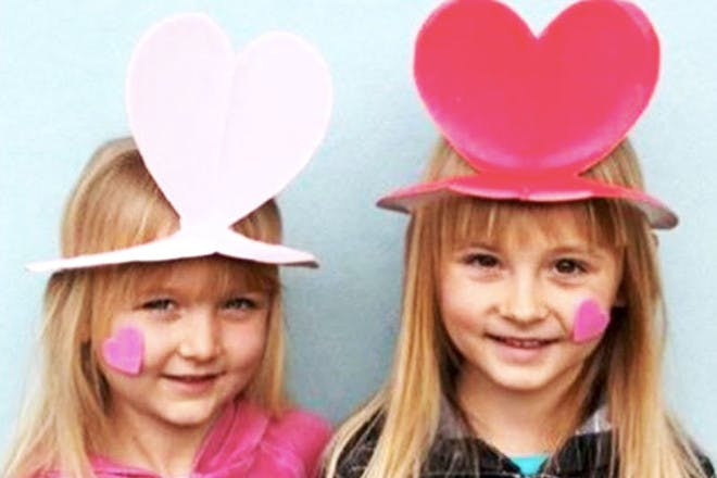 11. Heart hats