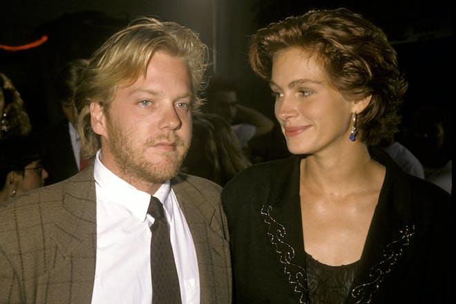 31. Julia Roberts and Kiefer Sutherland
