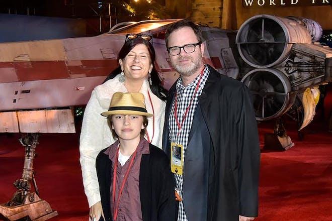 Rainn Wilson family