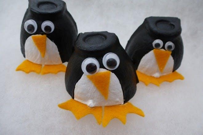 egg box penguins