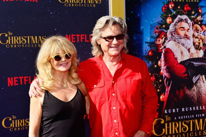 9. Goldie Hawn and Kurt Russell