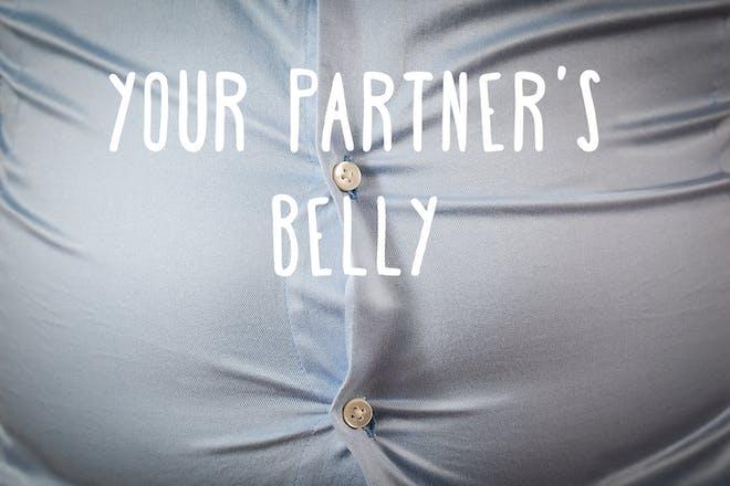 Partner's belly