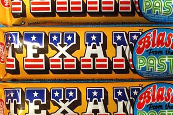 Texan chocolate bar