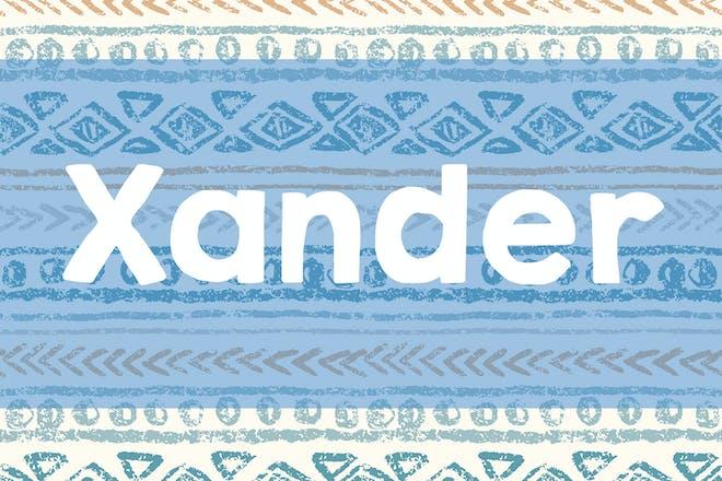 Xander name