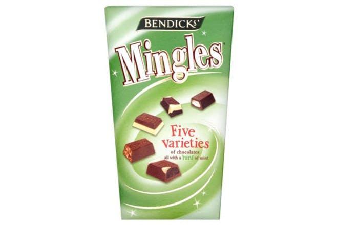 Mingles chocolate box