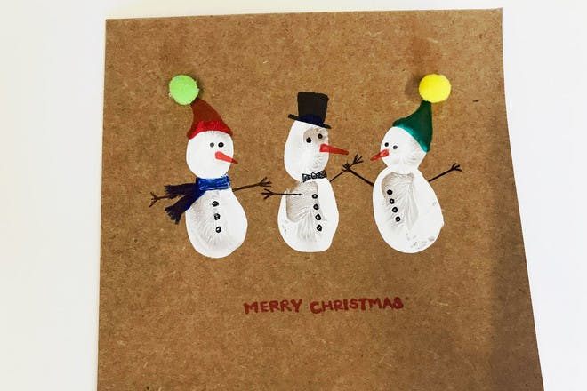 Snowmen Christmas cards