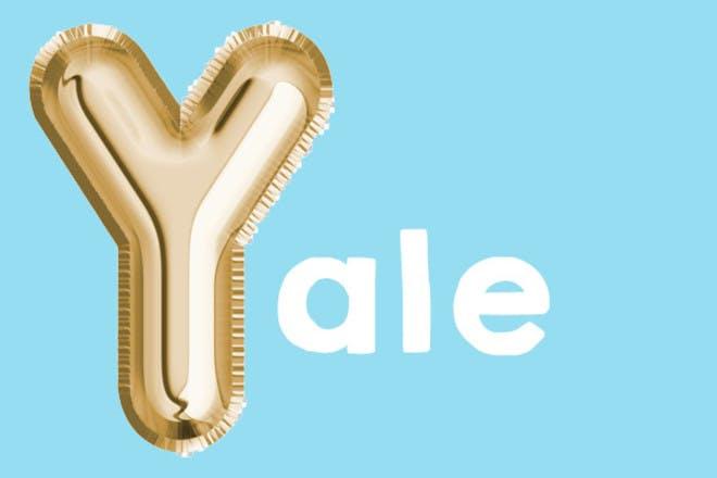 yale 'y' name