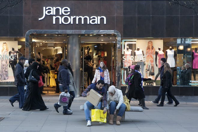 15. Shopped in Jane Norman