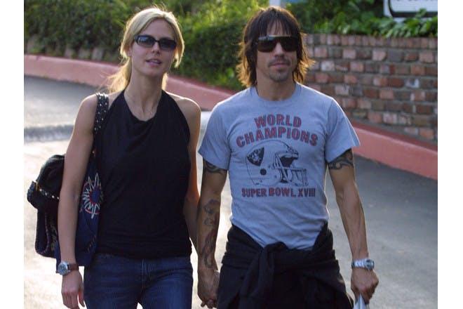 Heidi Klum and Anthony Kiedis