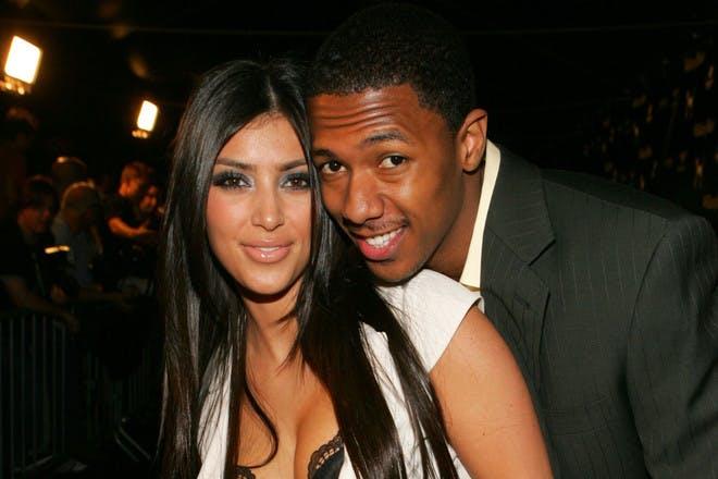 14. Kim Kardashian and Nick Cannon