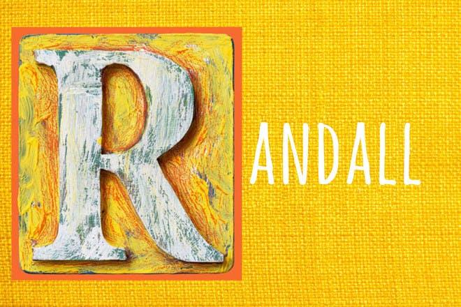 Baby name Randall