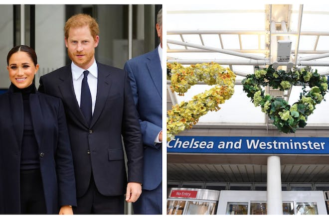 Meghan and Prince Harry / Chelsea and Westminster Hospital