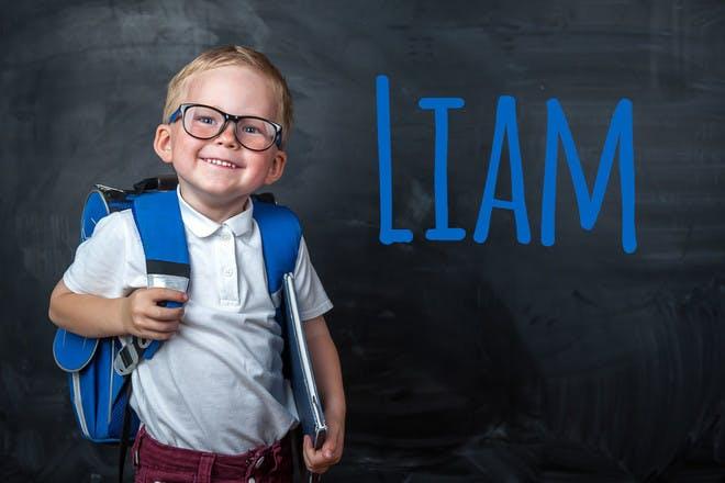 Liam popular name 2018