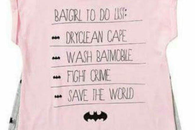 Batgirl top that's no longer onsale in Target