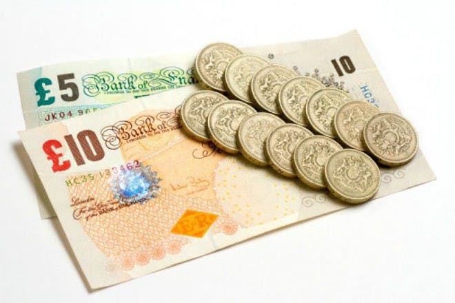 money notes and coins