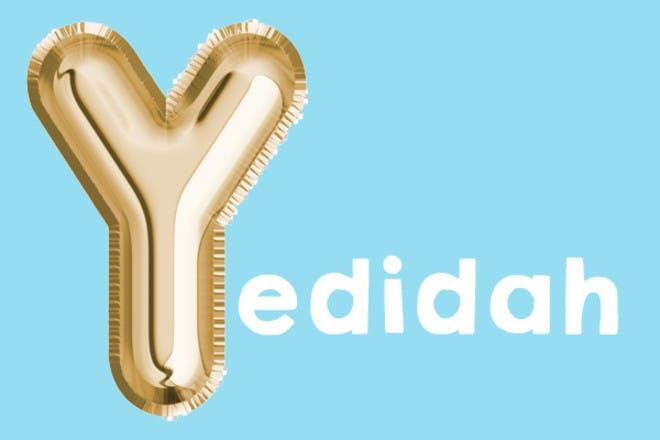 Yedidah 'y' name