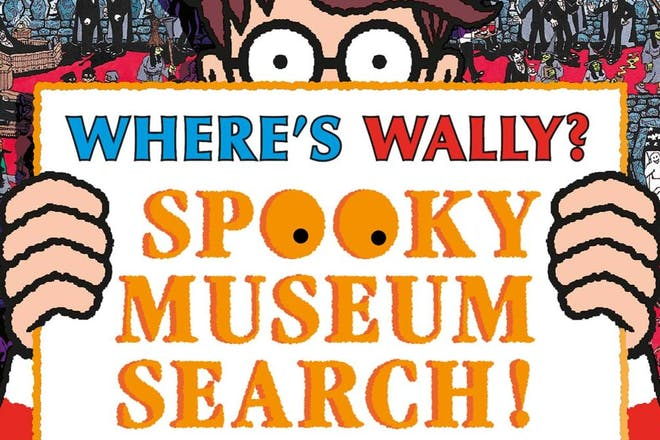 Where's Wally? Spooky museum search! at museums across the UK