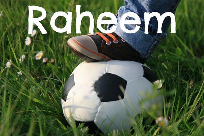 34. Raheem