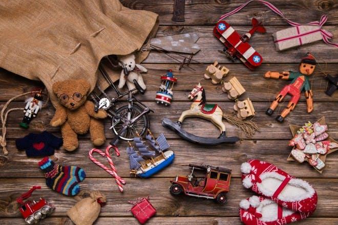 sack of toys