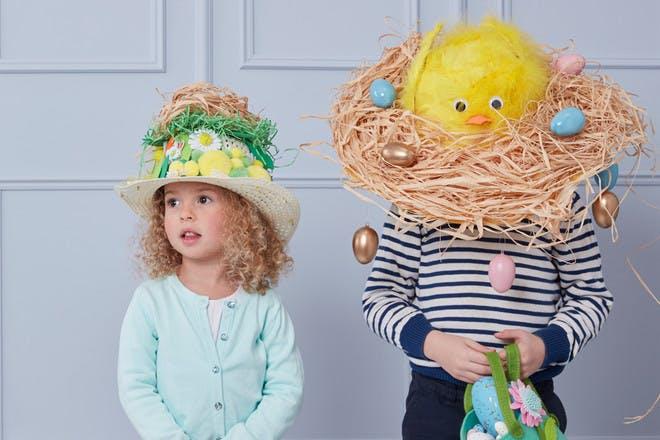 Birds nest bonnet
