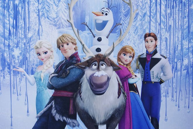 Frozen-Sing-A-Long poster