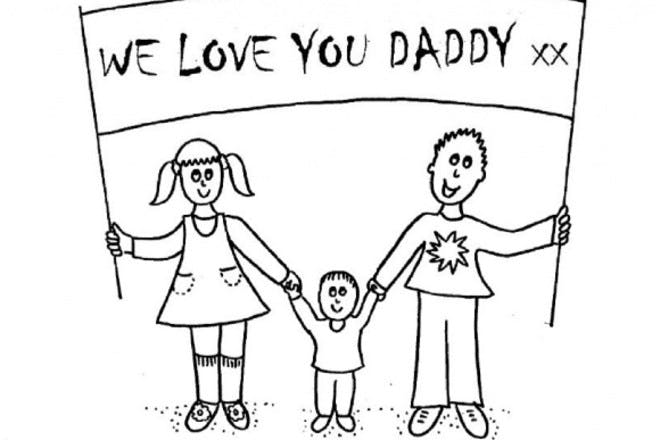 We love you, Daddy