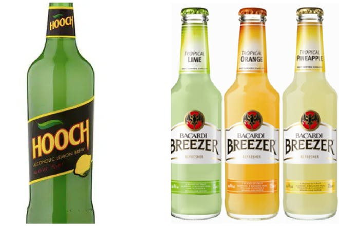 19 alcopops from the '00s we ALL remember drinking