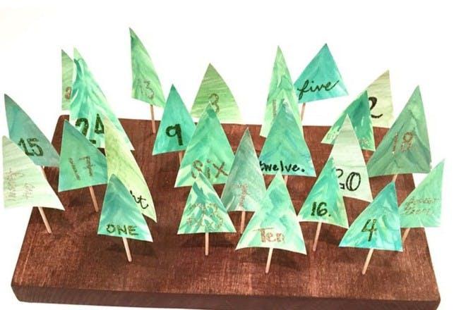 tree advent calendar