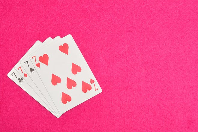 40. Play a game of cards