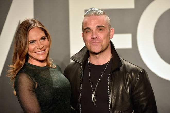 Robbie Williams and Ayda Field's relationship through the years