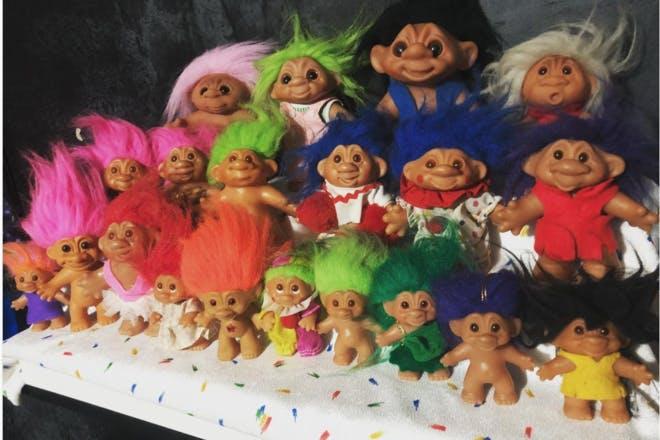 5. Troll Dolls