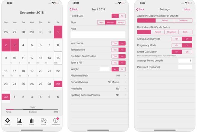 20. Menstrual Period Tracker
