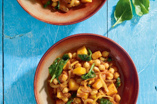 2. Moroccan chickpea curry