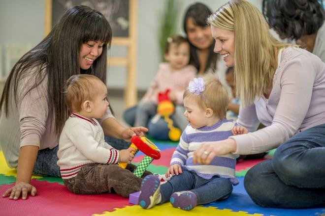 Surviving a toddler group