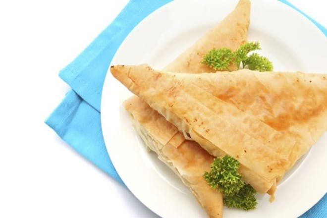 1. Cheese parcels