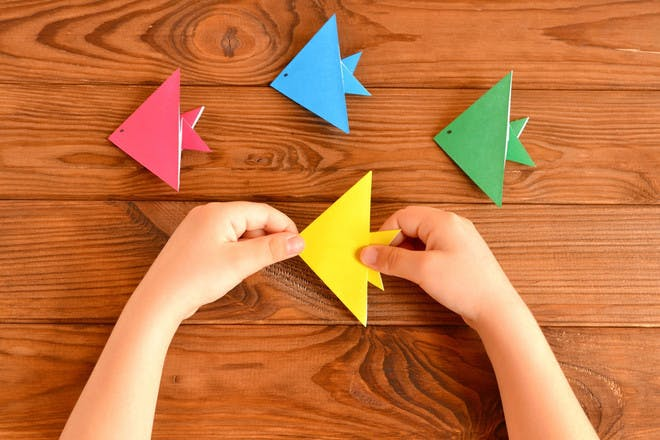 23. Origami fish