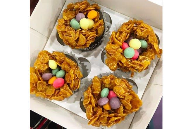 18. Plain cornflake cakes