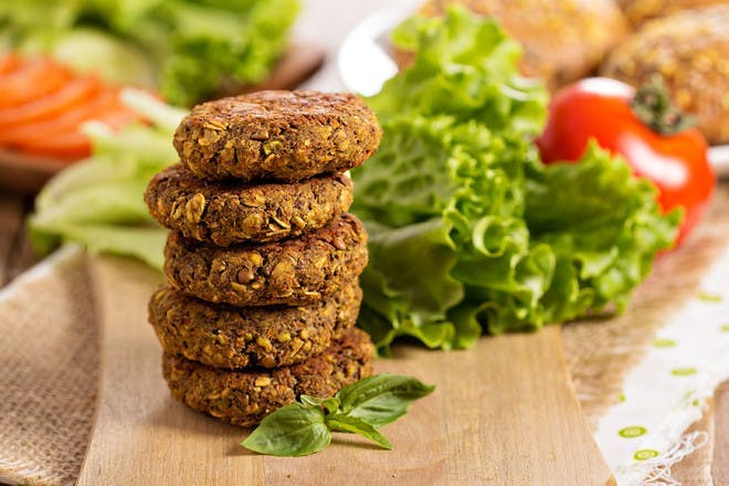Bean and carrot patties