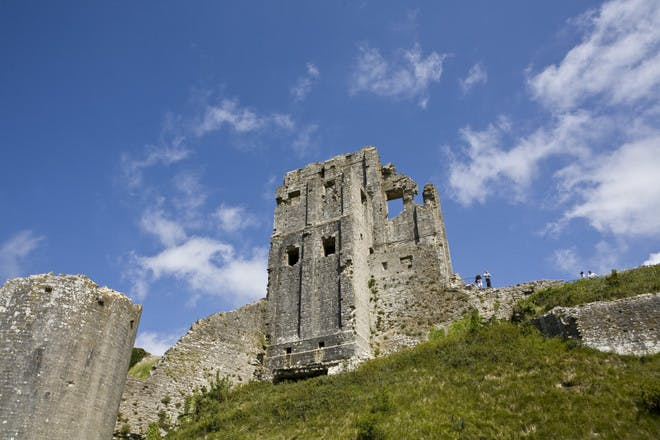 Go walking around Corfe Castle