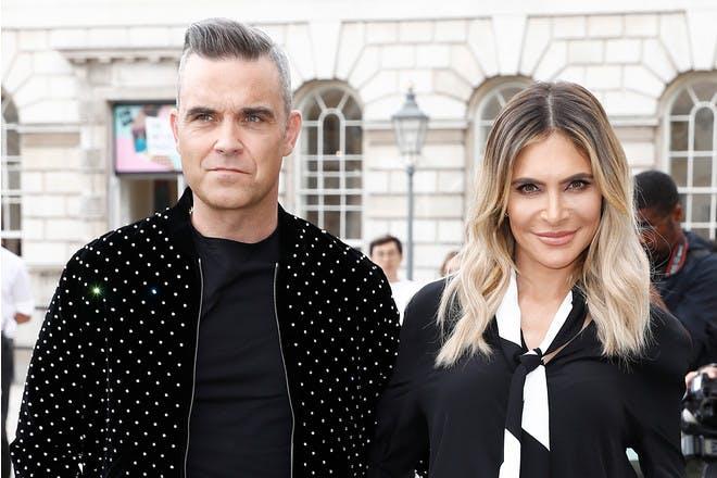 Robbie Williams Ayda Field The X Factor