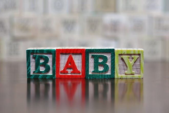Netmums上最受欢迎的婴儿名字