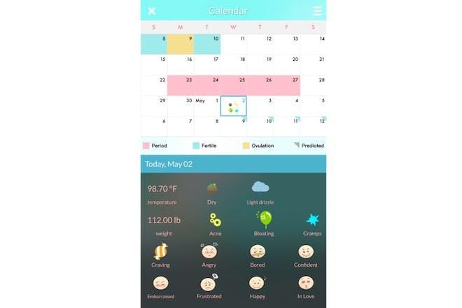 12. Period Tracker Health Calendar