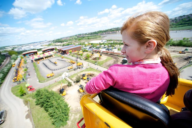 Diggerland is perfect for little people who love big machines!