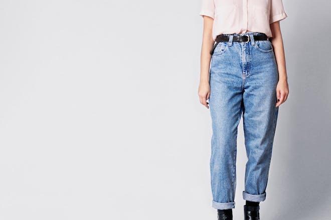 7. Mum jeans