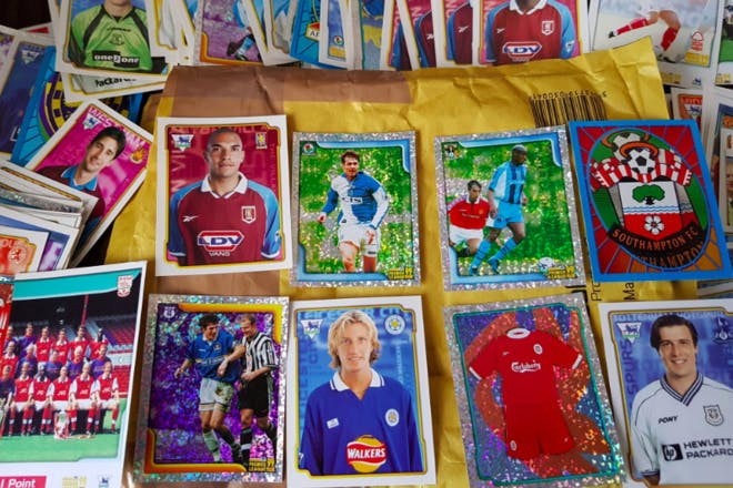 25. Football stickers