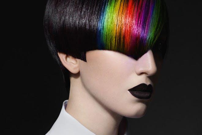 30. Rainbow hair
