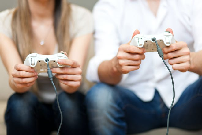 Couple video gaming