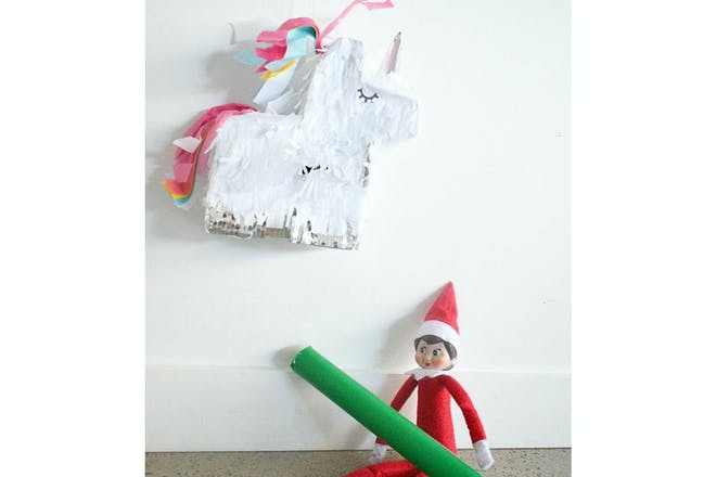 Elf on the shelf pinata