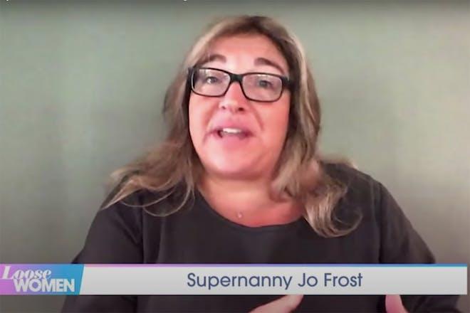 Jo Frost talking on Loose Women