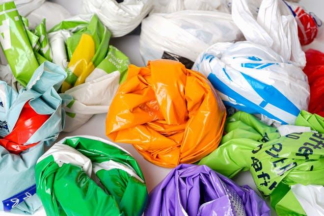 LOTS of plastic bags